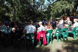 river prayer session